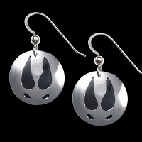 Deer Trax Earrings