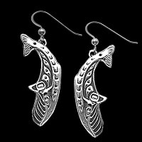 Whales Earrings