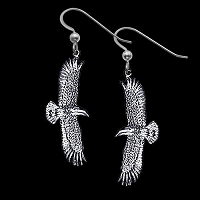 Flying Eagle Earrings