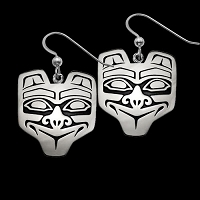 Haida Bear Earrings