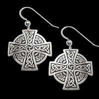 Cross Of Continuity Earrings
