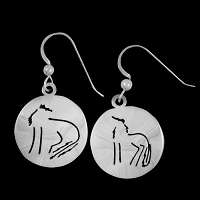 Wolftown Wolf Earrings