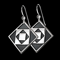 Twelve Triangles Earrings