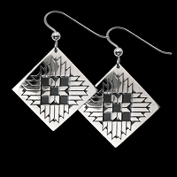 Mountain Star Earrings