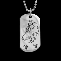 Seeker Dog Tag