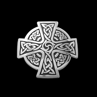 Cross of Continuity Lg Pendant