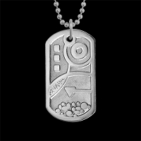 Hoot Dog Tag