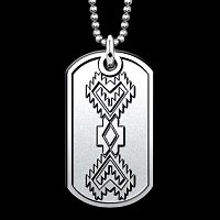 Corn Husk 2 Dog Tag