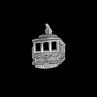 SF Cable Car Charm