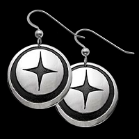 Northern Star Earrings
