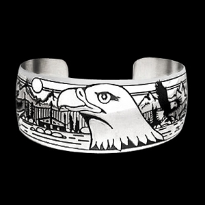 Council Grounds Eagle Bracelet