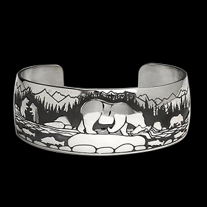 Fishing Bear Bracelet