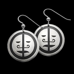 2 Face Mask Earrings