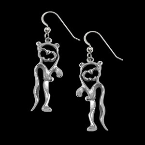 Otter Earrings