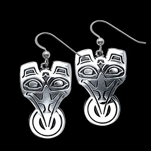 Raven Sun Earrings