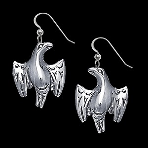 Salish Eagle Earrings
