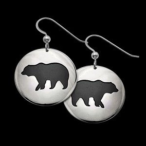 Bear Shadows Earrings
