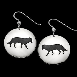 Wolf Shadows Earrings
