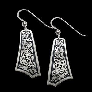 The Goddess Hound Earrings