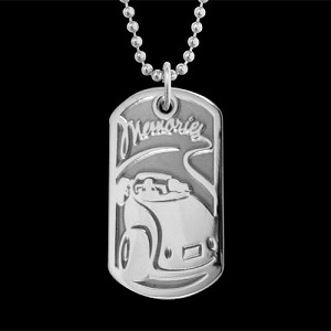 For The Good Times Dog Tag