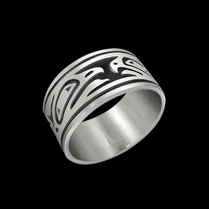 Lovebirds 10mm Ring Band