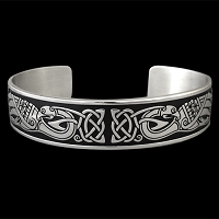 Peacock Celtic Bracelet