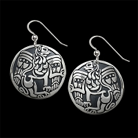 Lion's Spirit Earrings