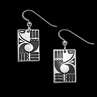 Alpha & Omega Earrings