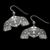 Biorka Bear Earrings