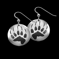 Bear Trax Earrings