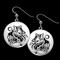 Maiden of the Wolf Clan Earrings