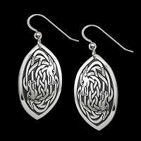 Serpent's Twist Earrings