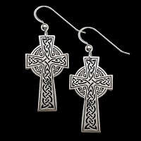 Cross of Life Earrings