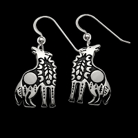 Wolf Spirit Earrings