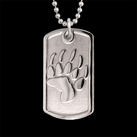 Bear Trax Dog Tag