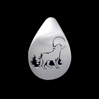 Wolf Song Lg Pendant