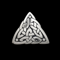 Duncan's Triangle Lg Pendant