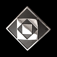 Twelve Triangle Lg Pendant