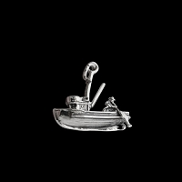 Fishing Boat Charm
