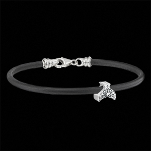 Lovebirds Whaletail Bead Bracelet