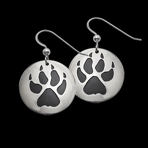 Wolf Trax Earrings